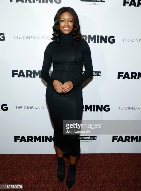 Javicia Leslie attends Farming New York Screening at Village East Cinema on October 22 2019 in New York City