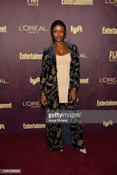 Javicia Leslie attends the 2018 PreEmmy Party hosted by Entertainment Weekly and L'Oreal Paris at Sunset Tower Hotel on September 15 2018 in West...