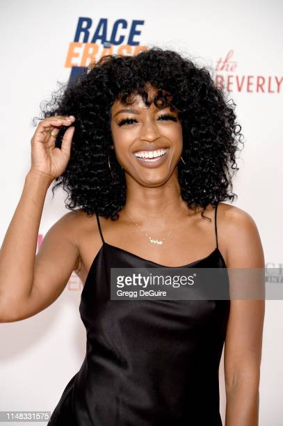 Javicia Leslie attends the 26th Annual Race to Erase MS Gala at The Beverly Hilton Hotel on May 10 2019 in Beverly Hills California