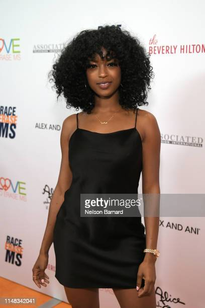 Javicia Leslie attends the 26th annual Race to Erase MS on May 10 2019 in Beverly Hills California
