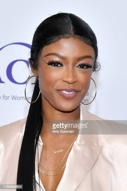 Javicia Leslie attends the 44th Annual Gracies Awards hosted by The Alliance for Women in Media Foundation at the Beverly Wilshire Four Seasons Hotel...