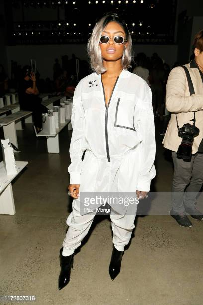 Javicia Leslie attends the Concept Korea front row during New York Fashion Week The Shows at Gallery I at Spring Studios on September 06 2019 in New...