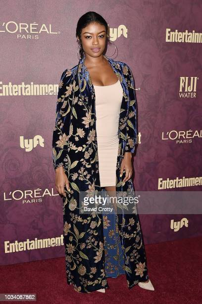 Javicia Leslie attends the Entertainment Weekly PreEmmy Party 2018 at Sunset Tower Hotel on September 15 2018 in West Hollywood California