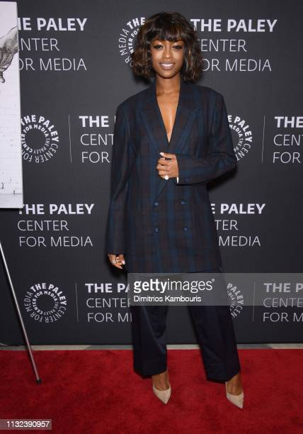 Javicia Leslie attends the God Friended Me Screening Discussion at The Paley Center for Media on February 26 2019 in New York City
