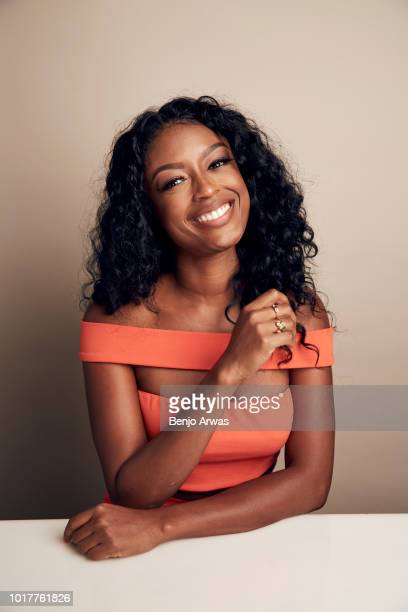 Javicia Leslie of CBS's 'God Friended Me' poses for a portrait during the 2018 Summer Television Critics Association Press Tour at The Beverly Hilton...