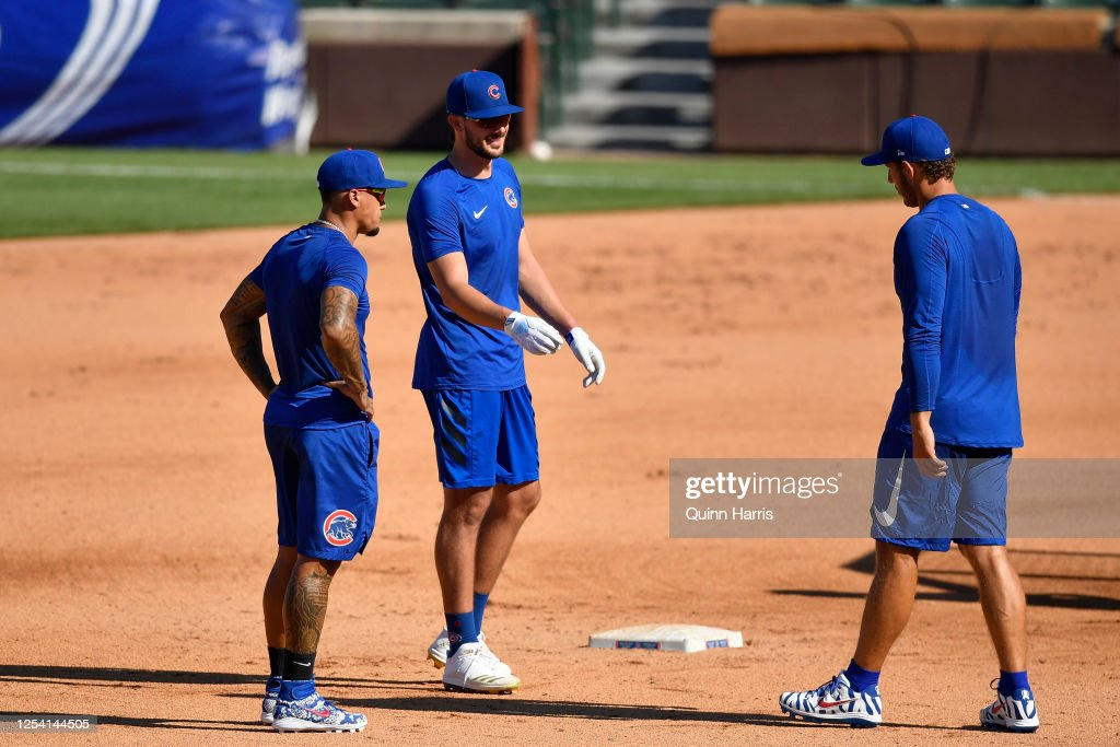 Chicago Cubs Summer Workouts : News Photo