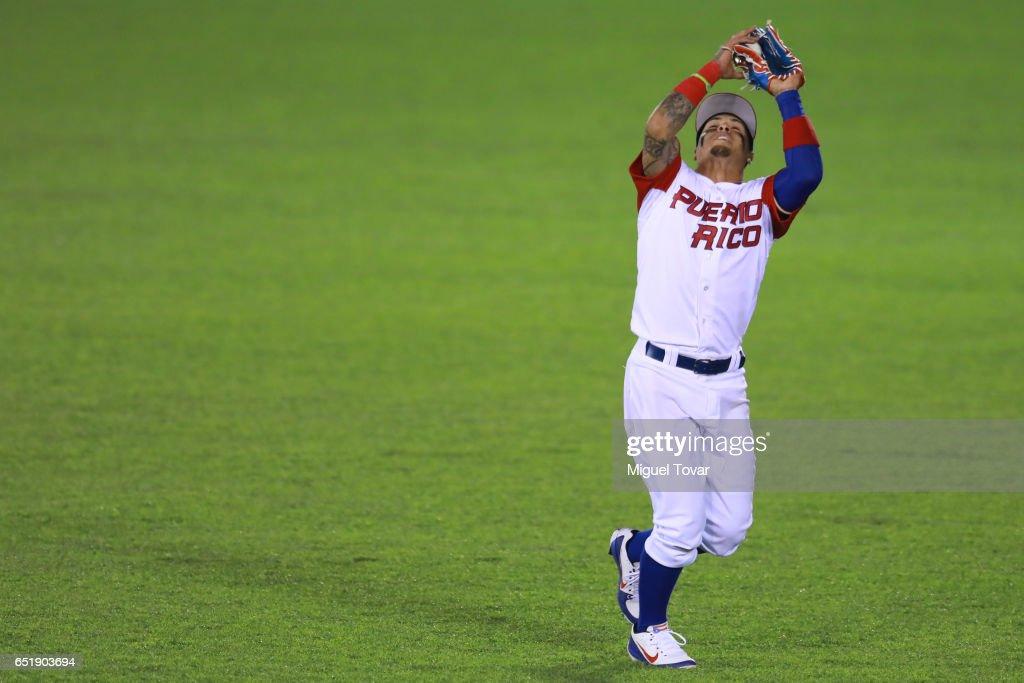 MEX: World Baseball Classic - Pool D - Game 2 - Venezuela v Puerto Rico