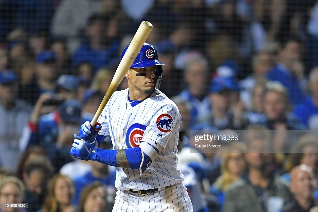 Wild Card Game - Colorado Rockies v Chicago Cubs : News Photo
