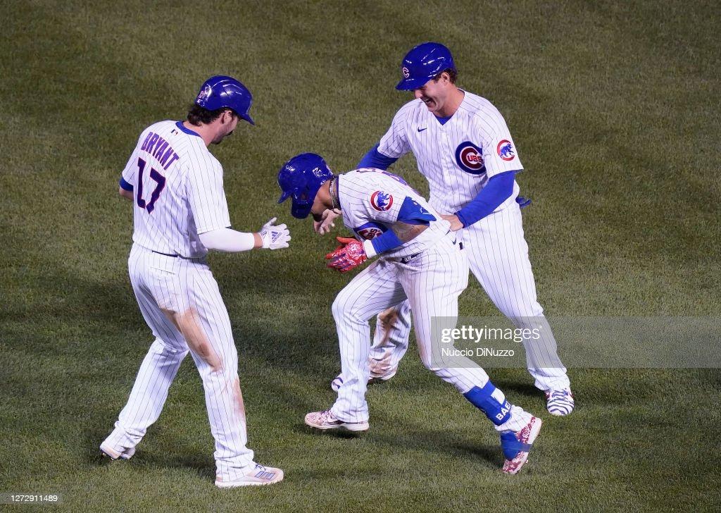 Cleveland Indians v Chicago Cubs : News Photo