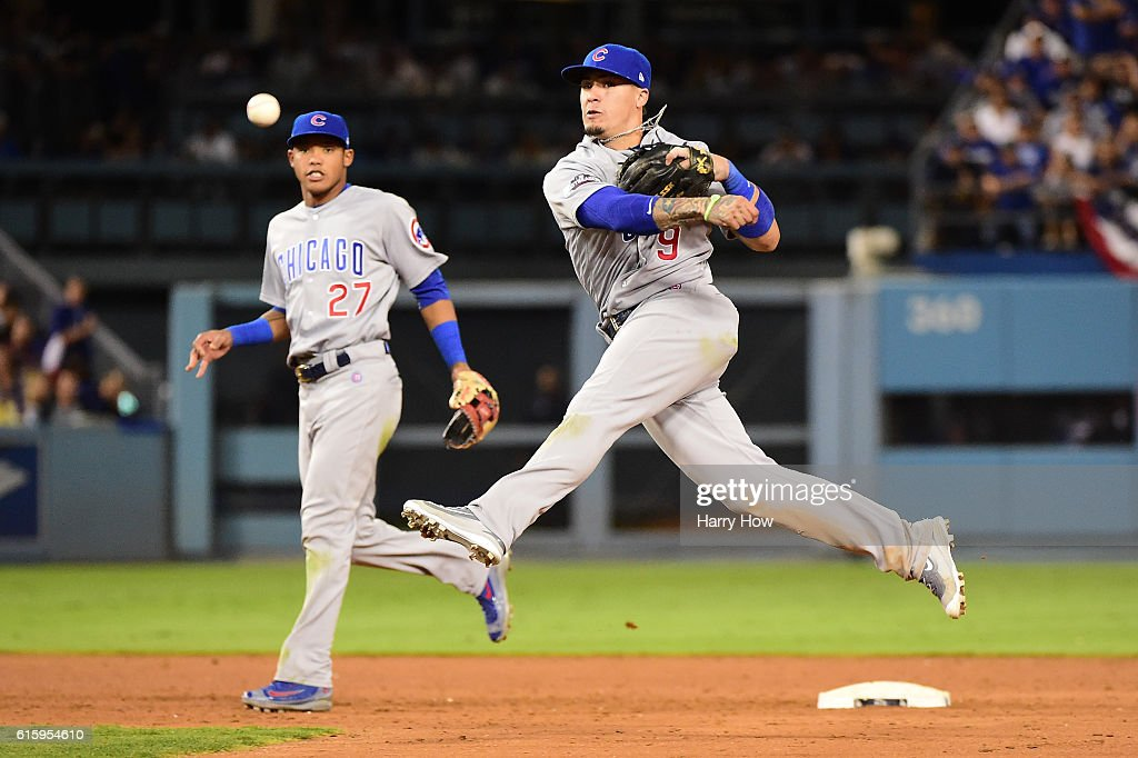 NLCS - Chicago Cubs v Los Angeles Dodgers - Game Five