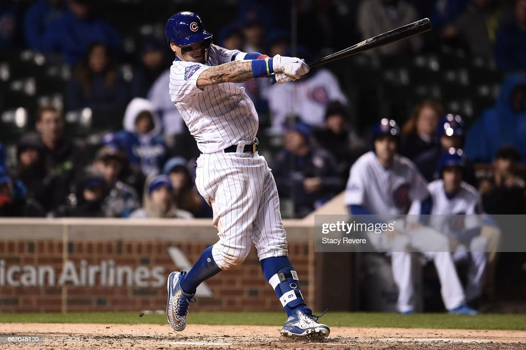 Los Angeles Dodgers v Chicago Cubs : News Photo