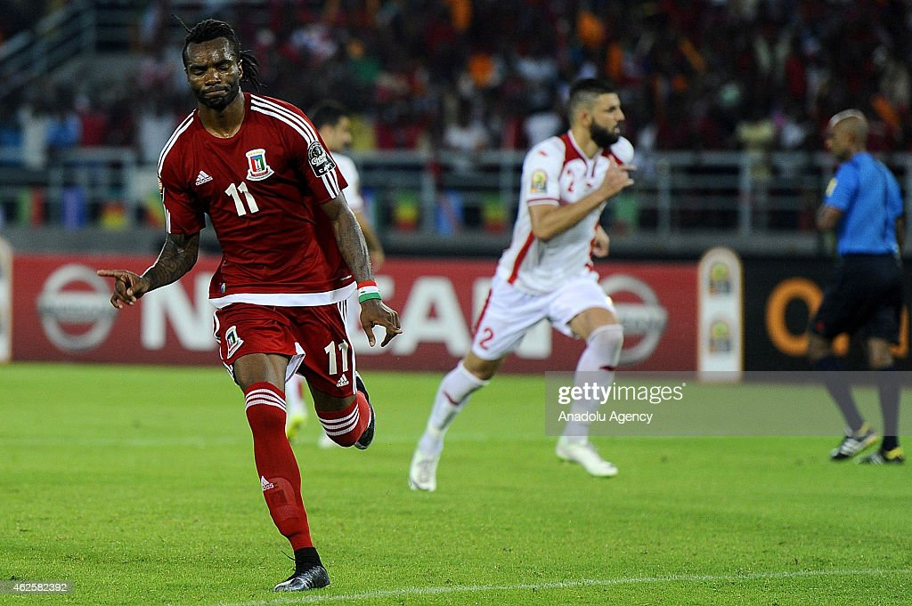2015 Africa Cup of Nations - Equatorial Guinea vs Tunisia : News Photo