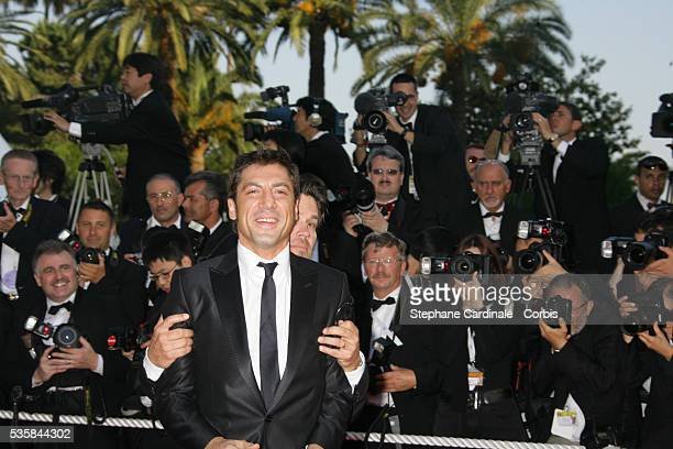 Javier Bardem and Josh Brolin arrive at the premiere of 'Chacun Son Cinema' during the 60th Cannes Film Festival
