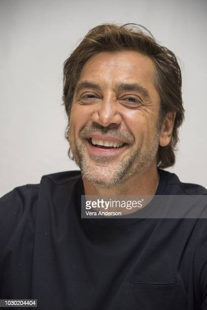 Javier Bardem at the Everybody Knows Press Conference at the Fairmont Royal York Hotel on September 9 2018 in Toronto Canada