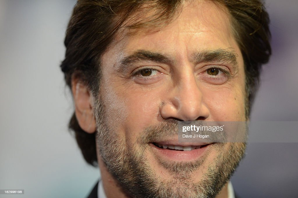 Javier Bardem attends a special screening of 'The Counselor' at Odeon West End on October 3, 2013 in London, England.