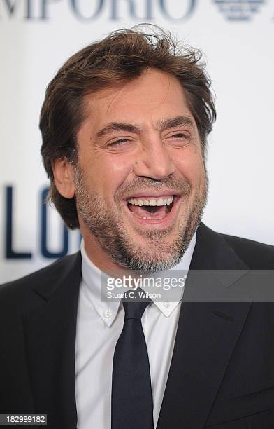 """Javier Bardem attends a special screening of """"The Counselor"""" at Odeon West End on October 3, 2013 in London, England."""