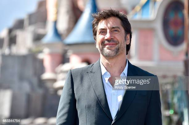 PARIS MAY 14 Javier Bardem attends the European Premiere to celebrate the release of Disney's 'Pirates of the Caribbean Salazar's Revenge' at...