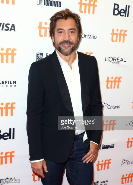 Javier Bardem attends the Loving Pablo premiere during the 2017 Toronto International Film Festival at Princess of Wales Theatre on September 12 2017...