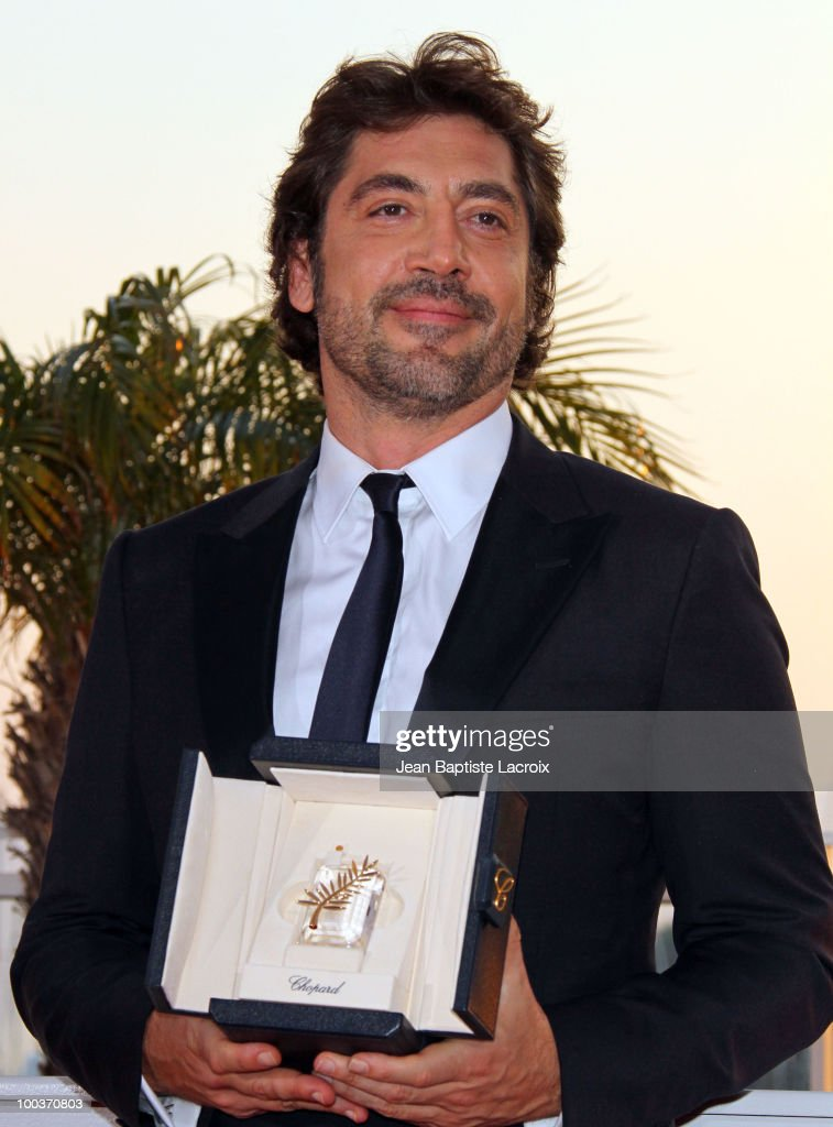 Javier Bardem attends the Palme d'Or Award Ceremony Photo Call held at the Palais des Festivals during the 63rd Annual International Cannes Film Festival on May 23, 2010 in Cannes, France.