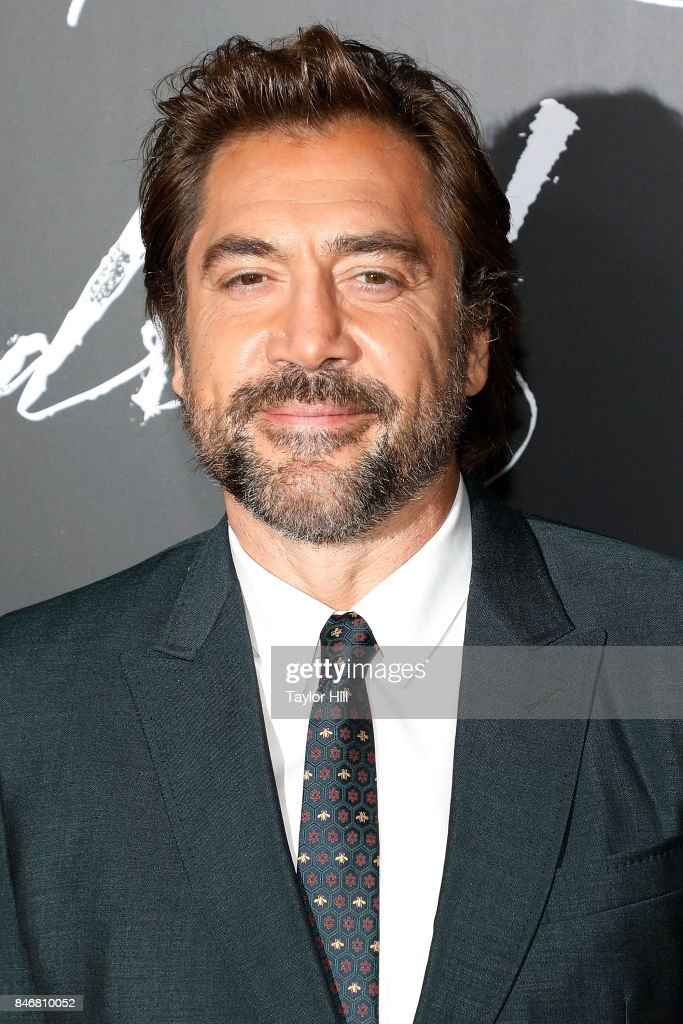 Javier Bardem attends the premiere of 'mother!' at Radio City Music Hall on September 13, 2017 in New York City.