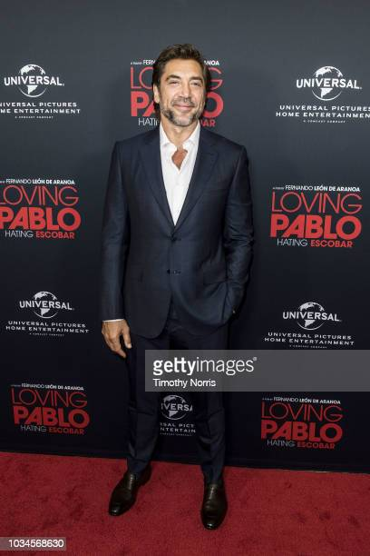 """Javier Bardem attends Universal Pictures Home Entertainment Content Group's """"Loving Pablo"""" special screening at The London West Hollywood on..."""