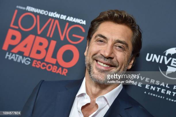 Javier Bardem attends Universal Pictures Home Entertainment Content Group's 'Loving Pablo' special screening at The London West Hollywood on...