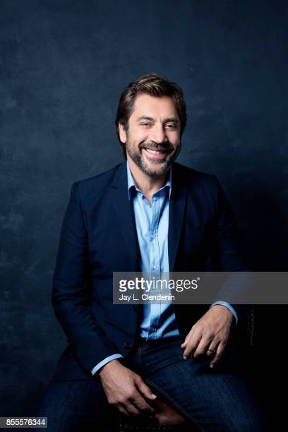 Javier Bardem from the film Loving Pablo poses for a portrait at the 2017 Toronto International Film Festival for Los Angeles Times on September 12...