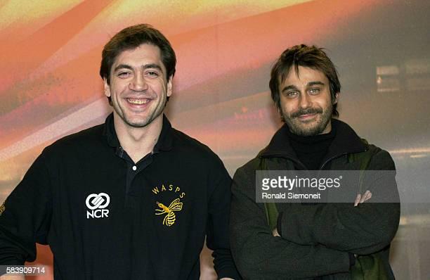 Javier Bardem Jordi Molla actors in the film 'Segunda Piel'