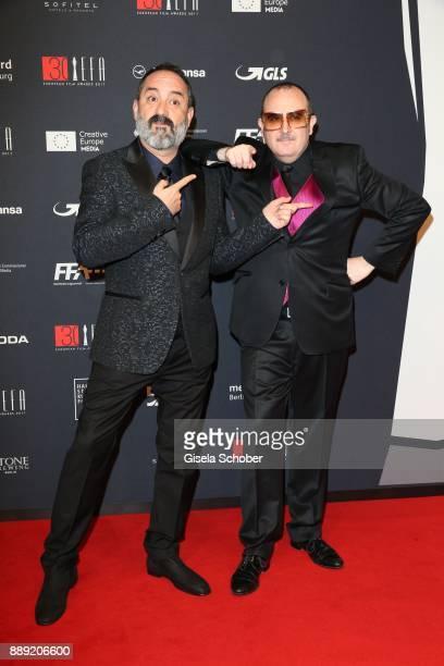 Javier Camara and Carlos Areces during the 30th European Film Awards 2017 at 'Haus der Berliner Festspiele' on December 9 2017 in Berlin Germany