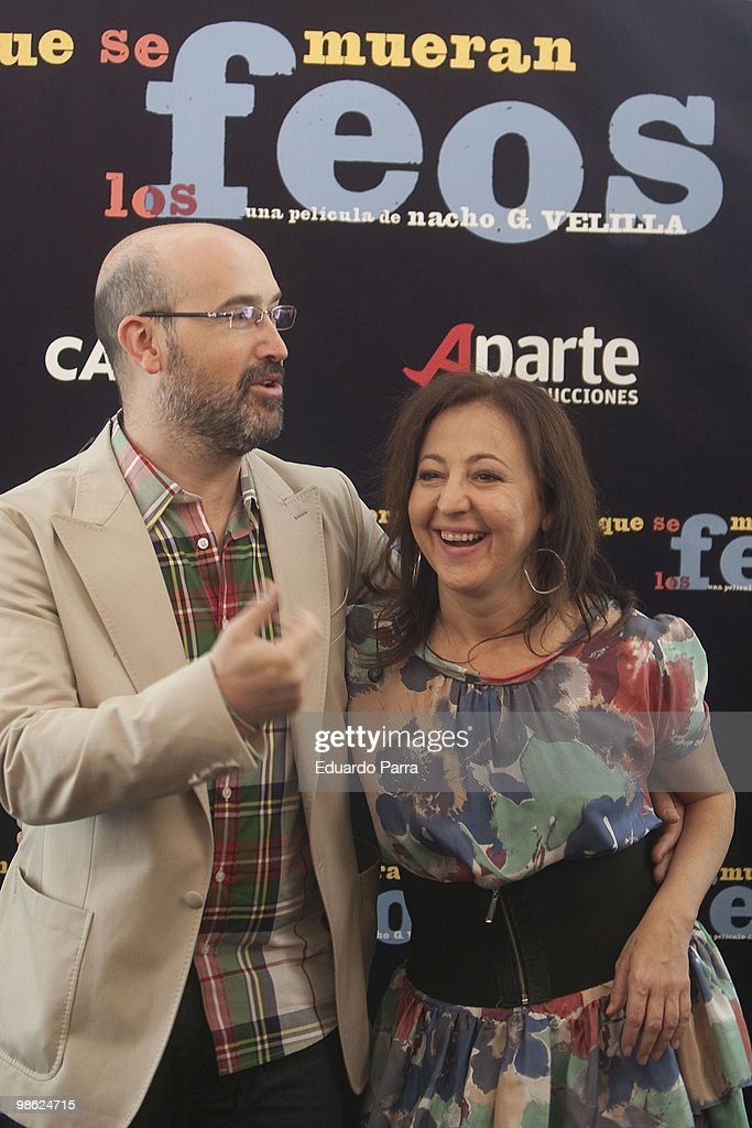 Javier Camara And Carmen Machi Attend Que Se Mueran Los Feos News