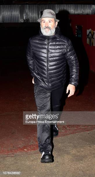 Javier Camara attends the Blanca Suarez's 30th birthday party on October 27 2018 in Madrid Spain