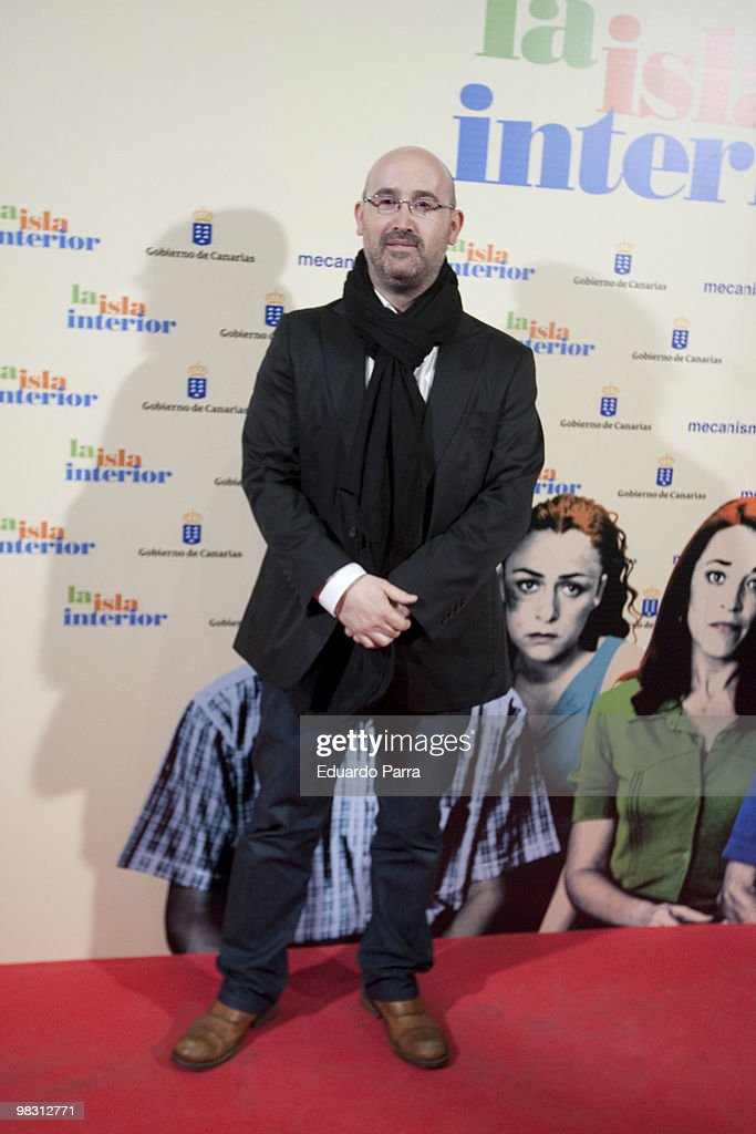 'La Isla Interior' Premiere in Madrid