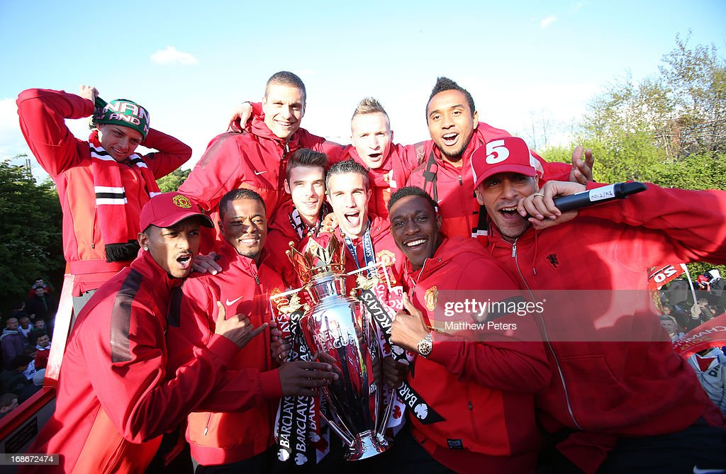 Manchester United Premier League Winners Parade : News Photo