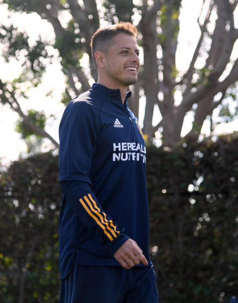 CA: Los Angeles Galaxy Introduce Javier Chicharito Hernandez