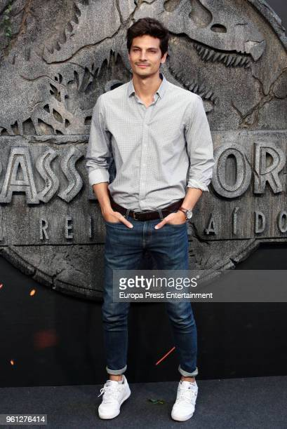 Javier de Miguel attends the 'Jurassic World Fallen Kindom' premiere at Wizink Center on May 21 2018 in Madrid Spain