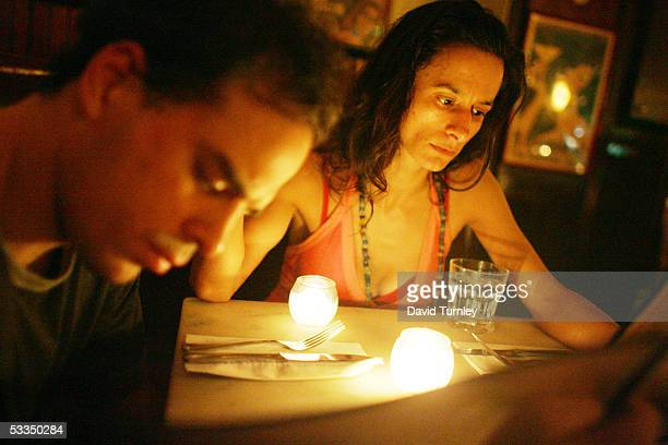 Javier Garcia and Moira Sauvane go for dinner after dancing the tango June 8, 2005 in New York City. Javier Garcia, an Argentinian-American and a...