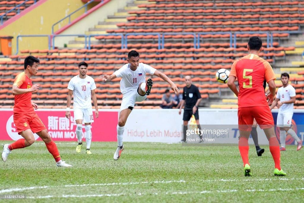 MYS: Philippines v China - AFC U-23 Championship Qualifier