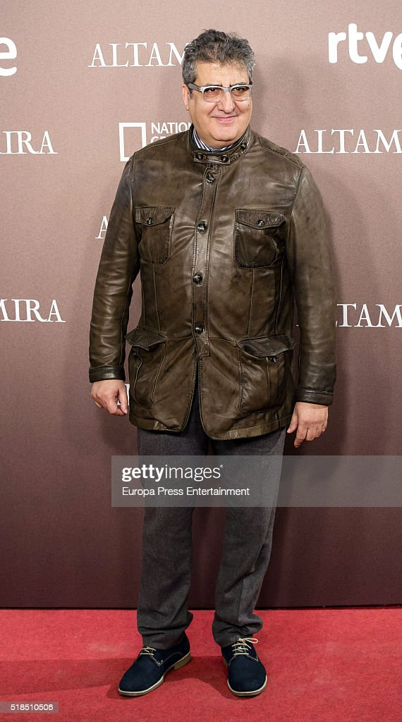 Javier Gil Valle Javivi attends 'Altamira' premiere at Callao cinema on March 31, 2016 in Madrid, Spain.