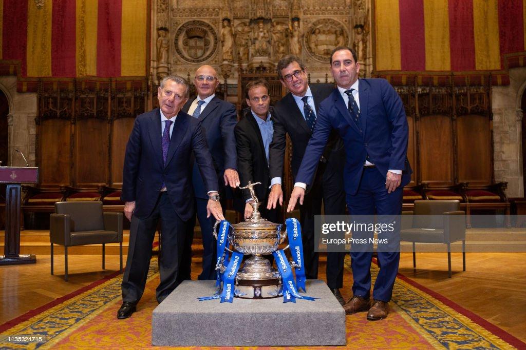 Presentation Of 'Barcelona Open Banc Sabadell 2019' : News Photo