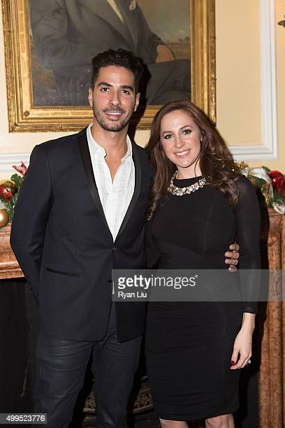 Javier Gomez and Teresa Priolo attend the 6th Annual UCP Of NYC Santa Project Party and auction benefiting United Cerebral Palsy of New York City at...