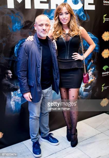 Javier Gutierrez and Grecia Casta during 'Jose Merce Sinfonico' Madrid Photocall on November 6 2017 in Madrid Spain
