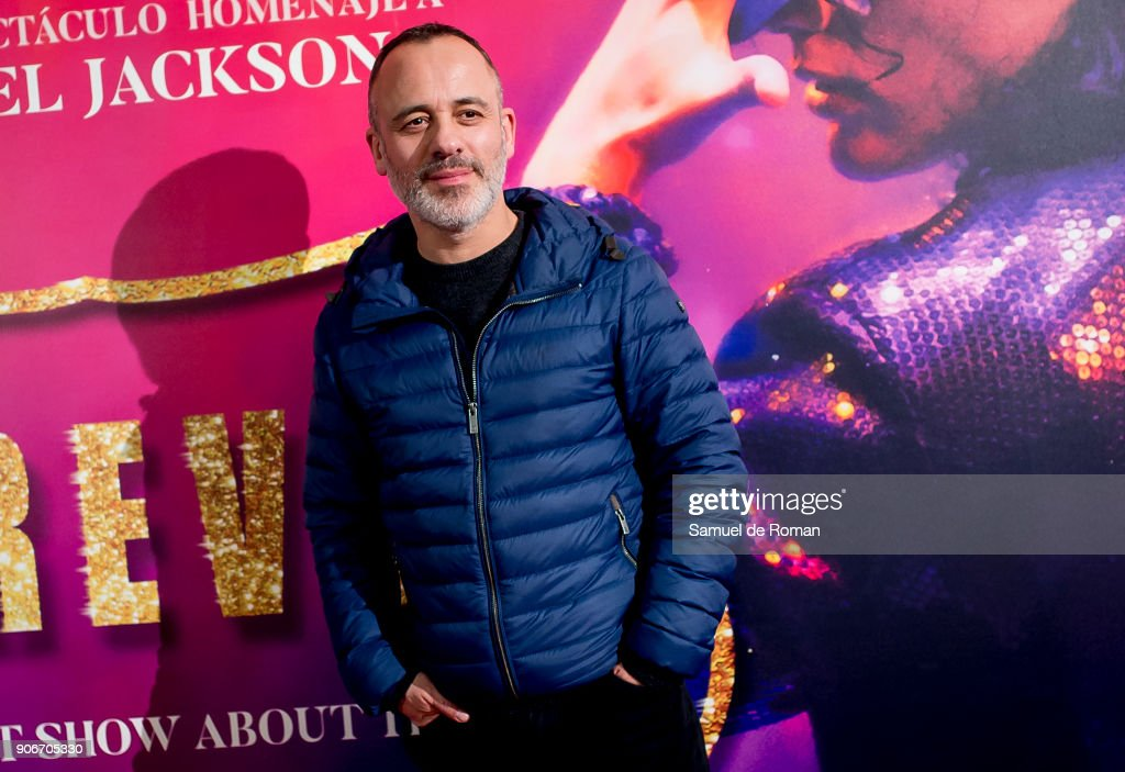 Javier Gutierrez attends the 'Forever Jackson' Madrid Premiere on January 18, 2018 in Madrid, Spain.