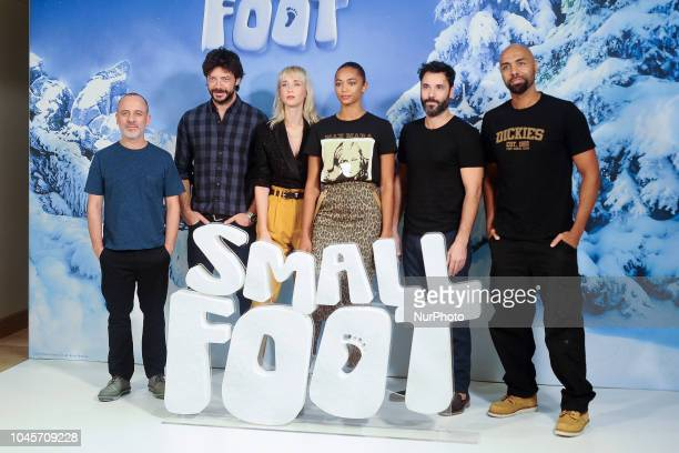 Javier Gutierrez attends the 'Small Foot' photocall at Urso hotel on October 4 2018 in Madrid Spain