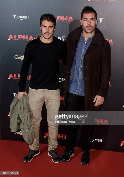 ¿Cuánto mide Javier Hernández? (Actor) Javier-hernandez-and-david-seijo-attend-alpha-premiere-photocall-at-picture-id187165774?s=612x612