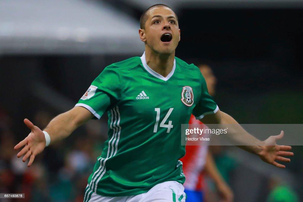 Mexico v Costa Rica - FIFA 2018 World Cup Qualifiers : Fotografía de noticias