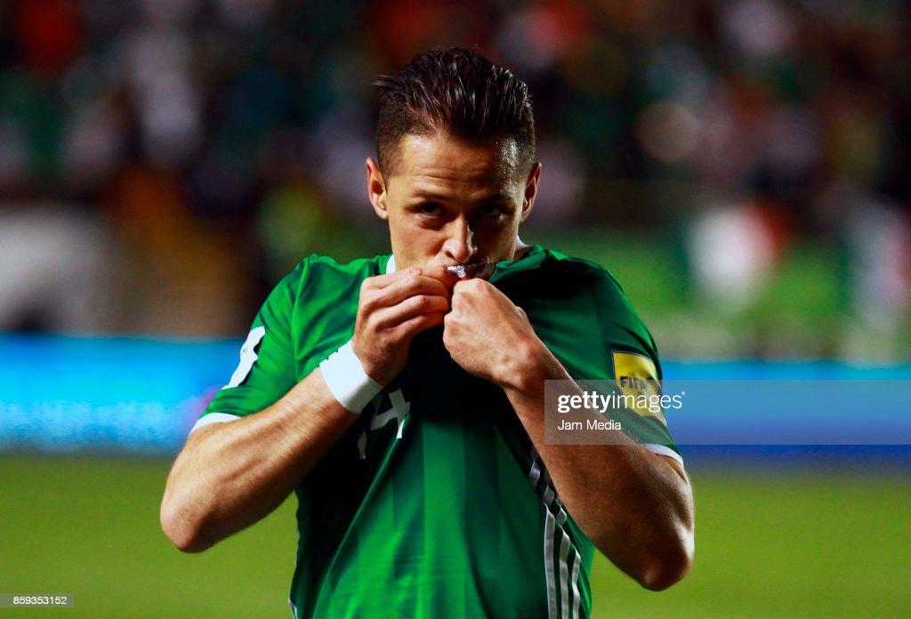 Mexico v Trinidad & Tobago - FIFA 2018 World Cup Qualifiers : News Photo