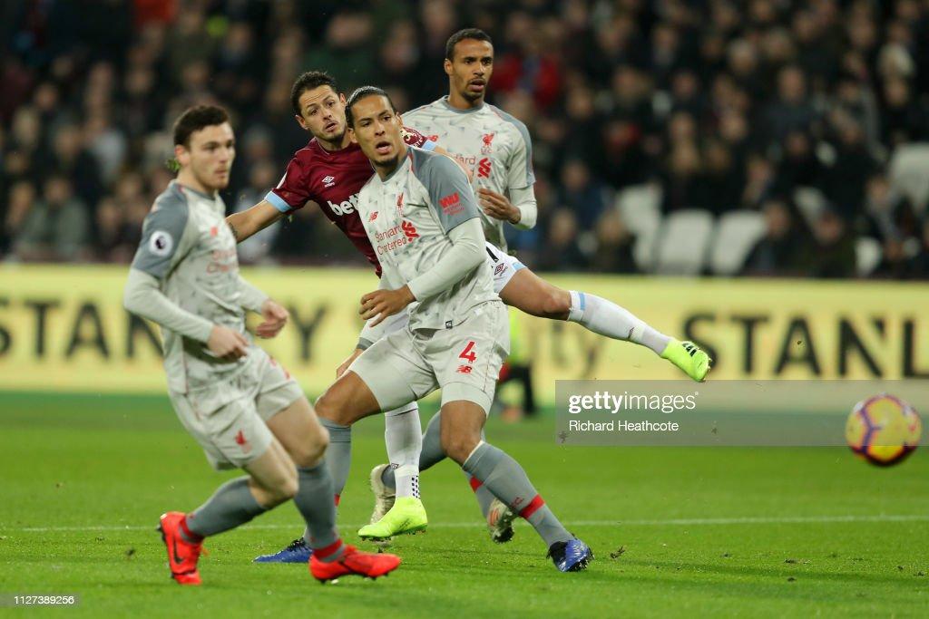West Ham United v Liverpool FC - Premier League : News Photo