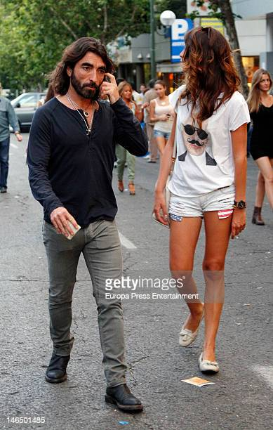Javier Hidalgo attends Bruce Springsteen's concert at Santiago Bernabeu stadium on June 17 2012 in Madrid Spain