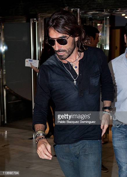 Javier Hidalgo attends live concert of Mexican band Mana at Arteria Coliseum Theatre on May 3 2011 in Madrid Spain