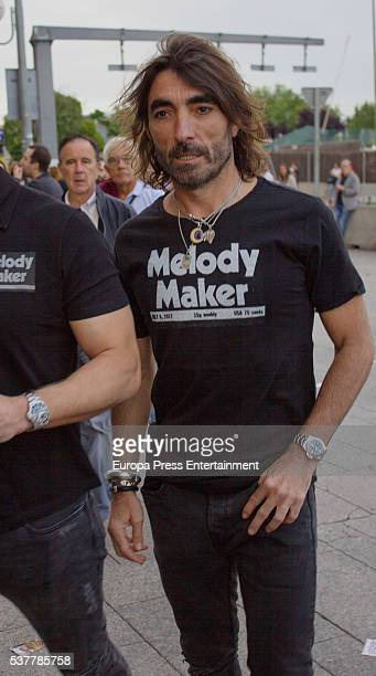 Javier Hidalgo attends Paul McCartney's concert at the Vicente Calderon stadium at Vicente Calderon Stadium on June 2 2016 in Madrid Spain